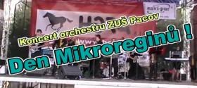 Orchestr ZUŠ Pacov na dni Mikroregionů