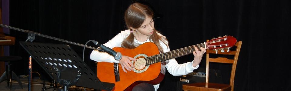 Kytara - ZUŠ Pacov 2014