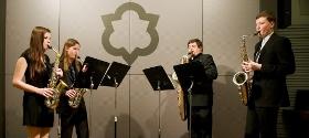 Saxofonové kvarteto audio
