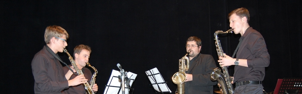 ZUŠ Pacov dechový kvartet