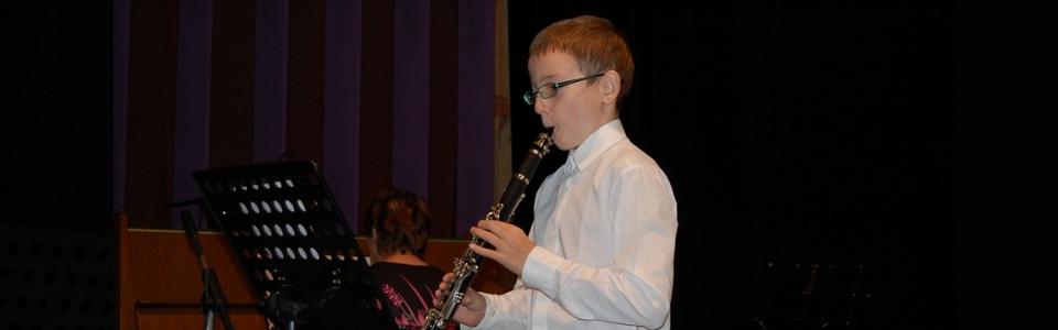 ZUŠ Pacov - klarinet