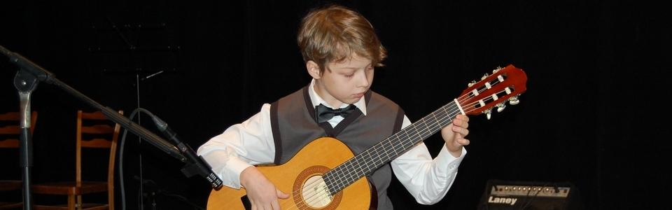 ZUŠ Pacov - klasická kytara