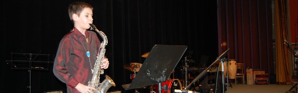 ZUŠ Pacov saxofon