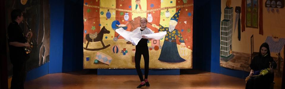 Muzikál Pinocchio - tanečnice