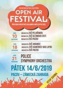 OpenAir festival - ZUŠ Pacov 2017