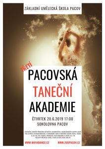 Pozvánka na Pacovskou taneční akademi 2019